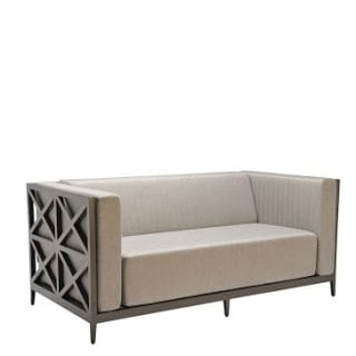 Asimuth Cross Club Two-Seater Sofa