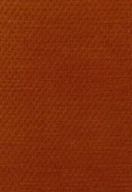 Schumacher Paley Quilted Velvet in Chinese Orange