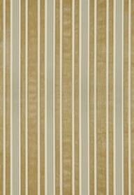 Schumacher Warwick Velvet Stripe in Sage