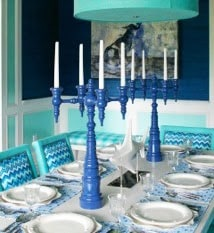 Dunes+&+Duchess+lacquered+wood+candelabras.