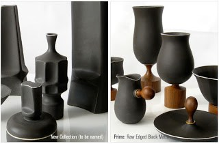 Beautiful scaled ceramics with restrained designs from Klein-Reid
