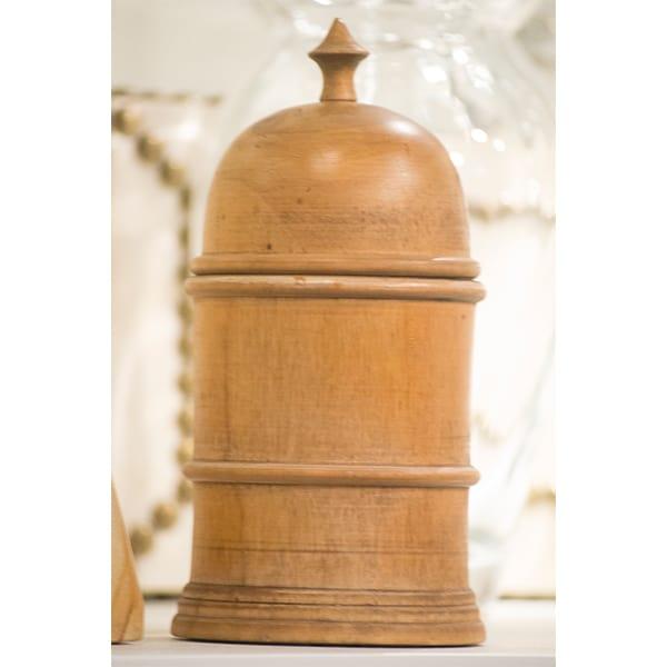 wood jar