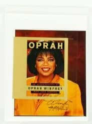 38 Portrait of Oprah Winfrey, original photograph, produced for the book, The Autobiography of Oprah Winfrey, est 300-500, sold 1500