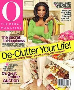 4 O magazine features De-Clutter Your Life!
