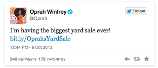 4 Oprah Twitters The Yard Sale