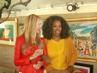 5 Oprah gives CBS News a pre-auction walk thru