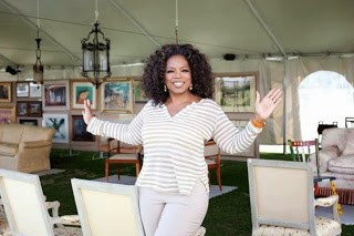 6 Oprah happy to say goodbye!