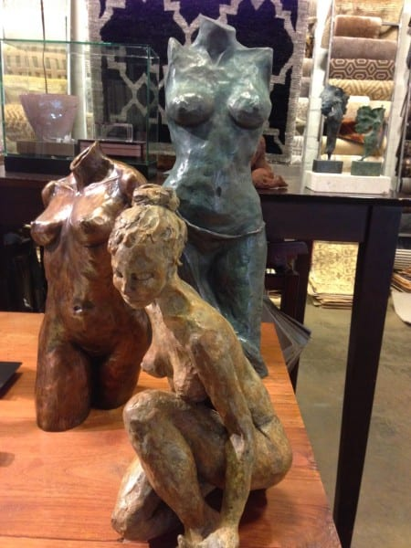 Darcy Sears Nudes Sculptures, Bronze