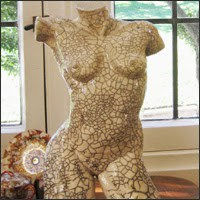 Female Torso, Ceramic
