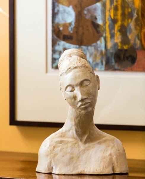 Modigliani Woman, Bronze