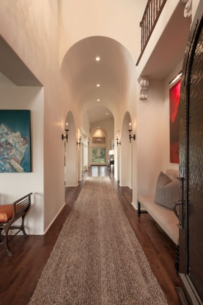 Entry Hallway - Santa Maria, CA Estate - Designed by Cabana Home