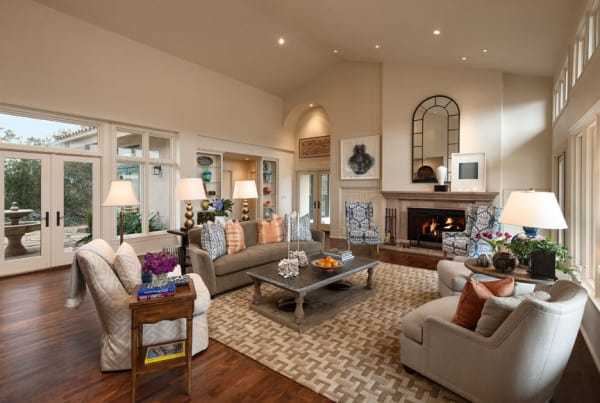Living Room - Santa Maria, CA Estate - Designed by Cabana Home