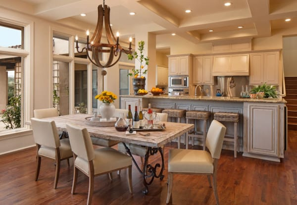 Kitchen & Breakfast Room - Santa Maria, CA Estate - Designed by Cabana Home