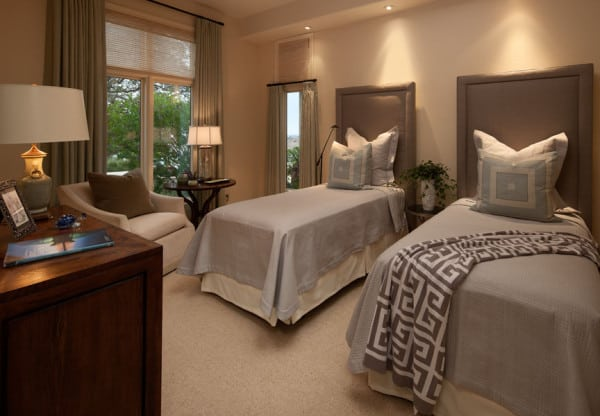 Guest Suite - Santa Maria, CA Estate - Designed by Cabana Home