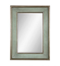 sky_blue_rectangular_mirror