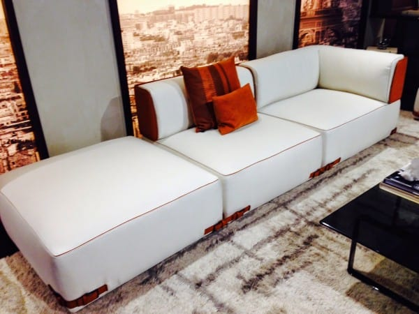 The Soho sectional by Fendi Casas