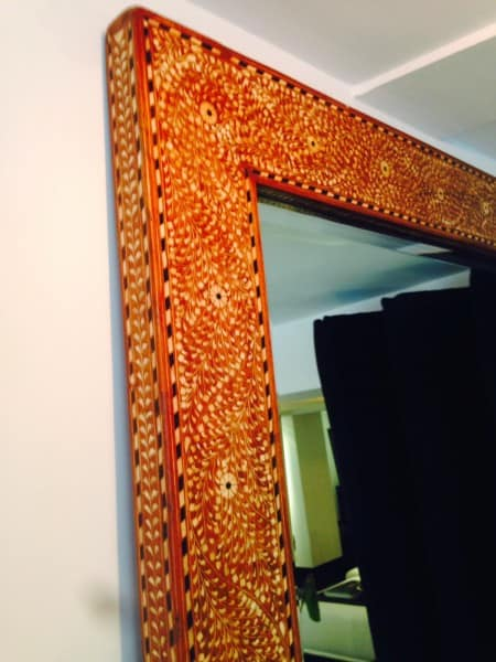 Anglo-Indian reproduction mirror