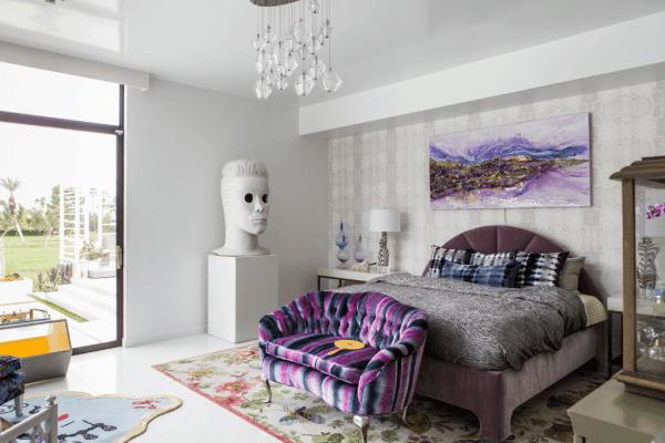 12 Master Bedroom- Chicago-based designer Julia Buckingham