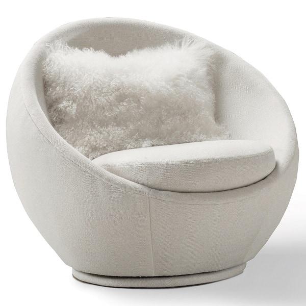 Milo Baughman Good Egg Swivel Chair