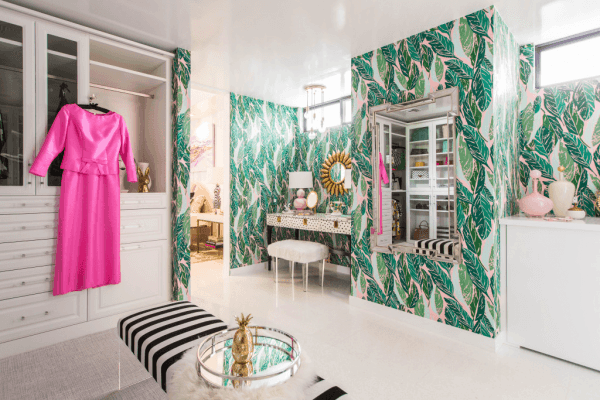 14 Kelly Lee — who pens the popular design blog Kelly Golightly — designed the walk-in closet off the master bedroom.