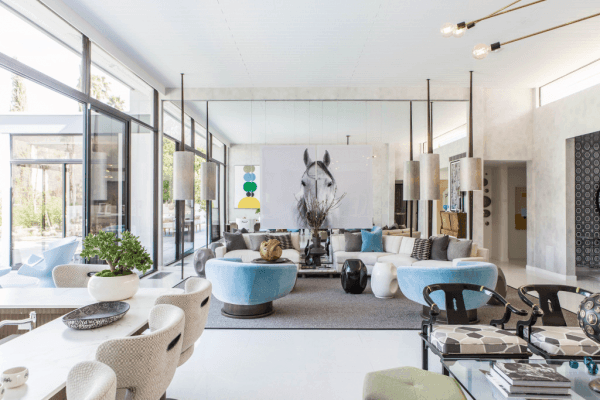4 Michael Berman created an expansive, open-plan living area 3