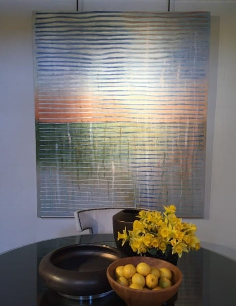 Painting with Julian Chichester dining table