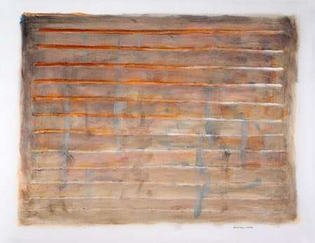 -Untitled (Gray)-17 x 22, oil on paper $1400.