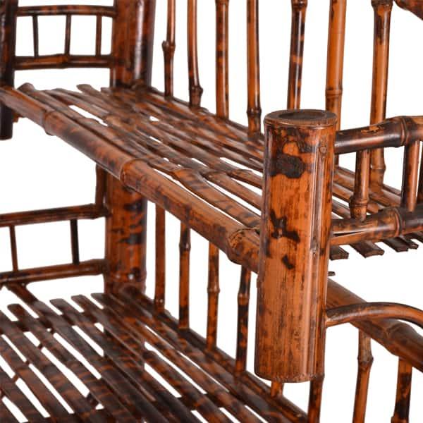 Tortoise Shell Bamboo Shelf Cabana Home