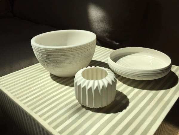 white bowls grouped together