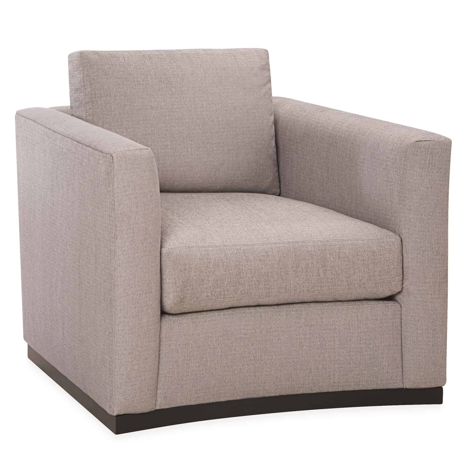 Lee Curved Swivel Chair