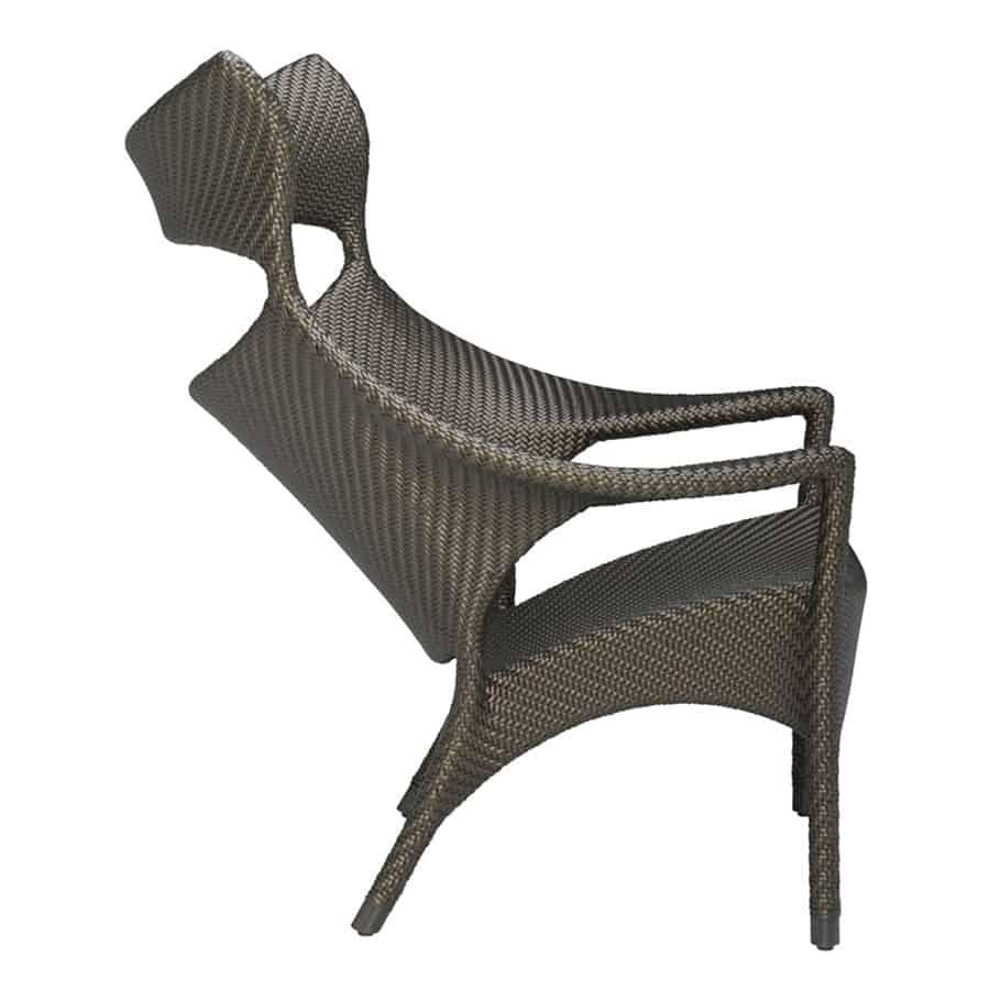 Amari High Back Lounge Chair Bronze Cabana Home