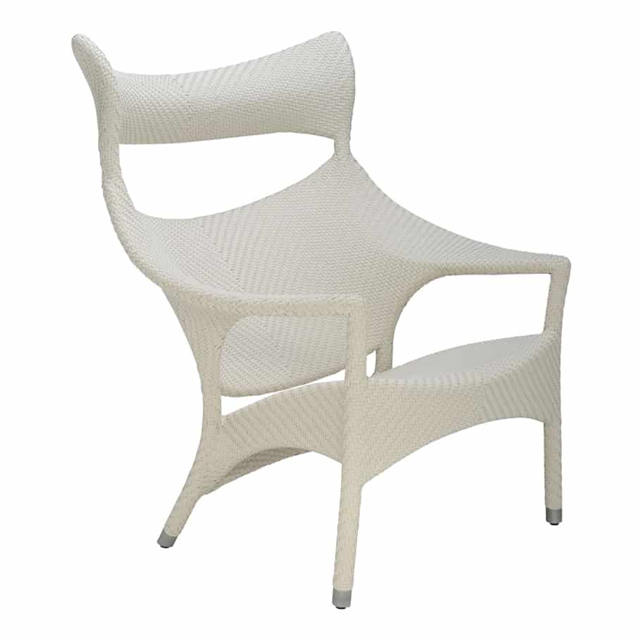 Amari High Back Lounge Chair Limestone Cabana Home