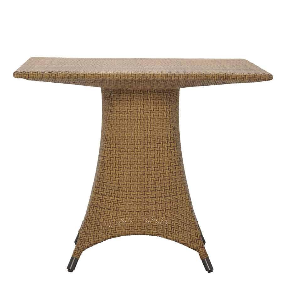 amari square dining table caramel 35 1 2 cabana home