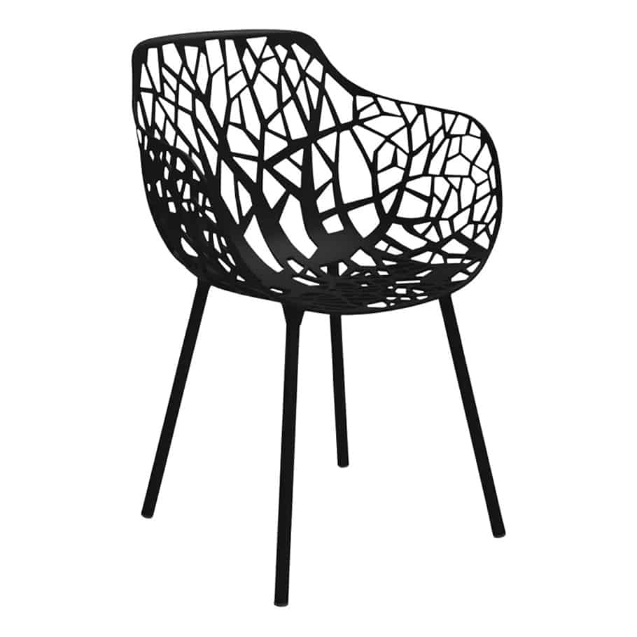 Forest Dining Armchair Black Cabana Home