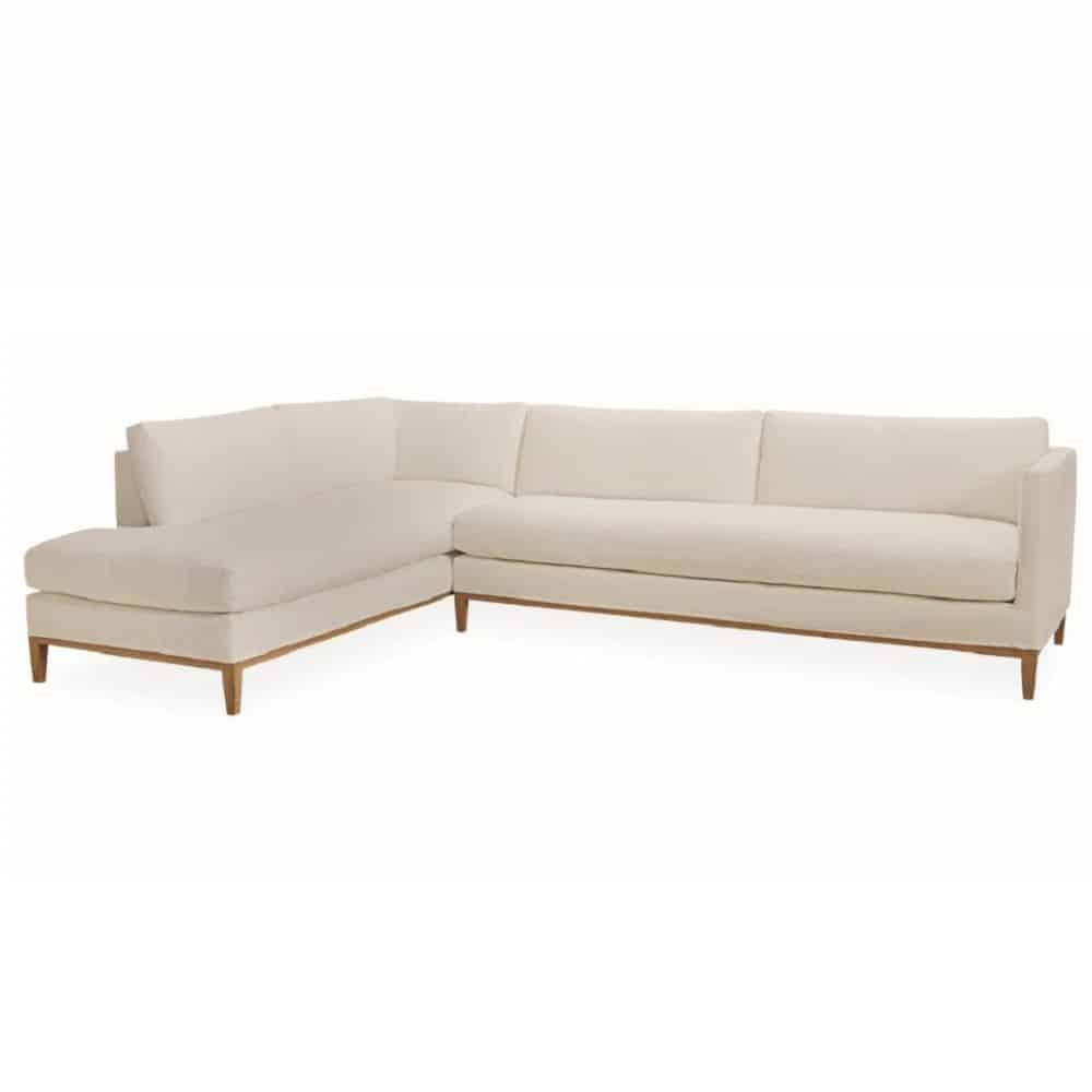Baker paris tufted sofa by thomas pheasant cabana home for Baker furniture sectional sofa