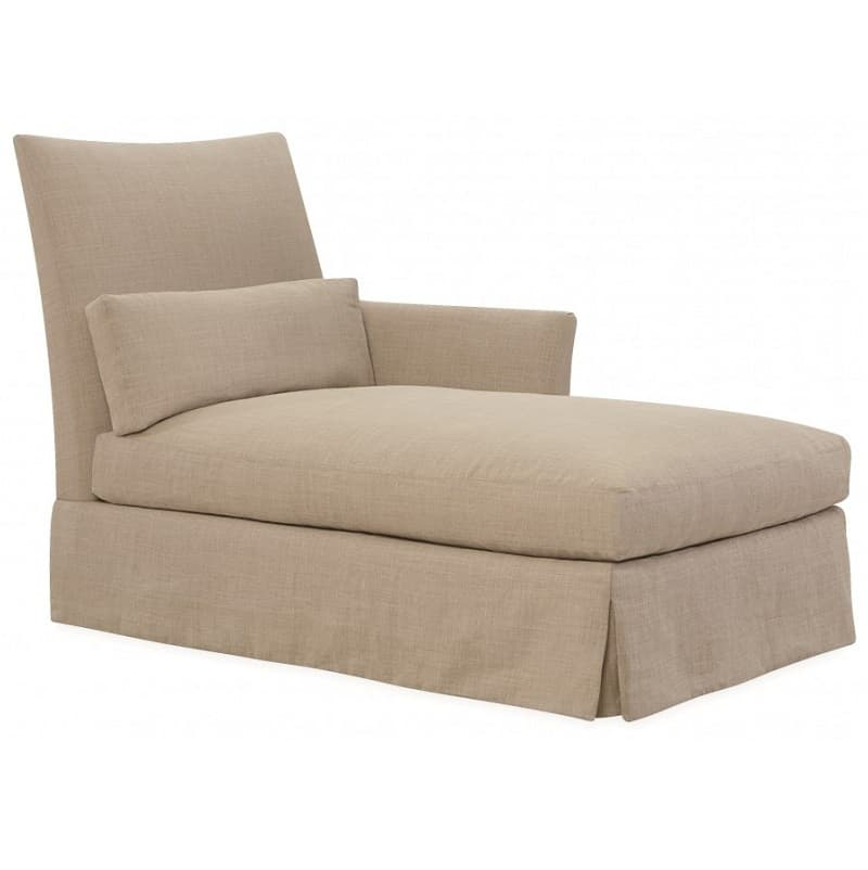Lee sagging ridge one arm chaise cabana home for One arm sofa chaise