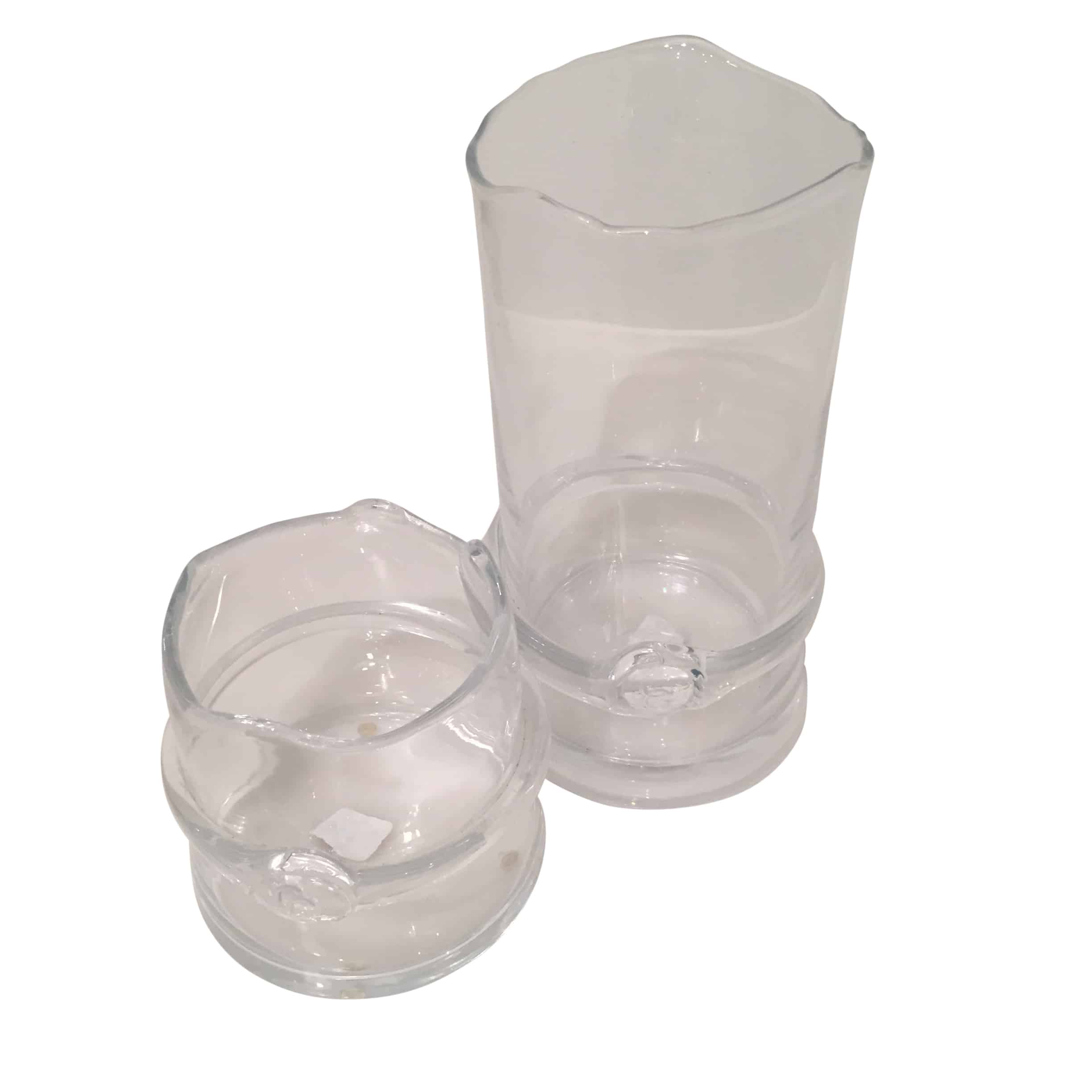 Laurent Clear Glass Vases Cabana Home