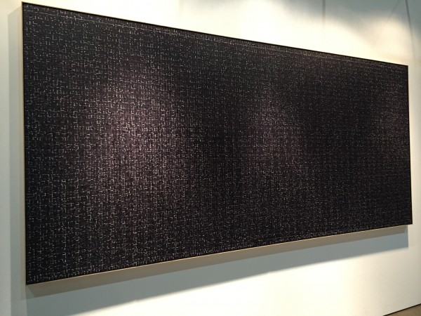 Water LLSM 16, a monumental oil on canvas by Young-II Ahn