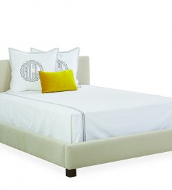 upholstered queen size headboard bed