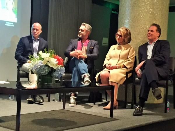 Carl Dellatore, Martyn Lawrence Bullard, Suzanne Rhinestein and Timothy Corrigan