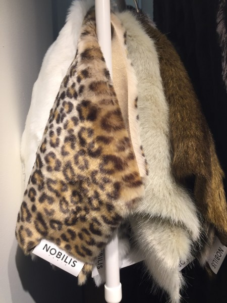 The walk continued with these animal prints from Noblis at Kneedler Fauchere.