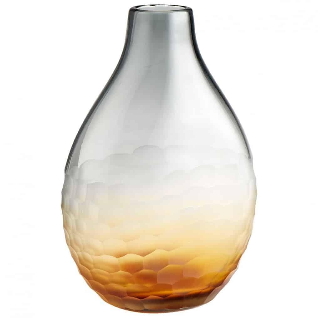Ombre Glass Vase