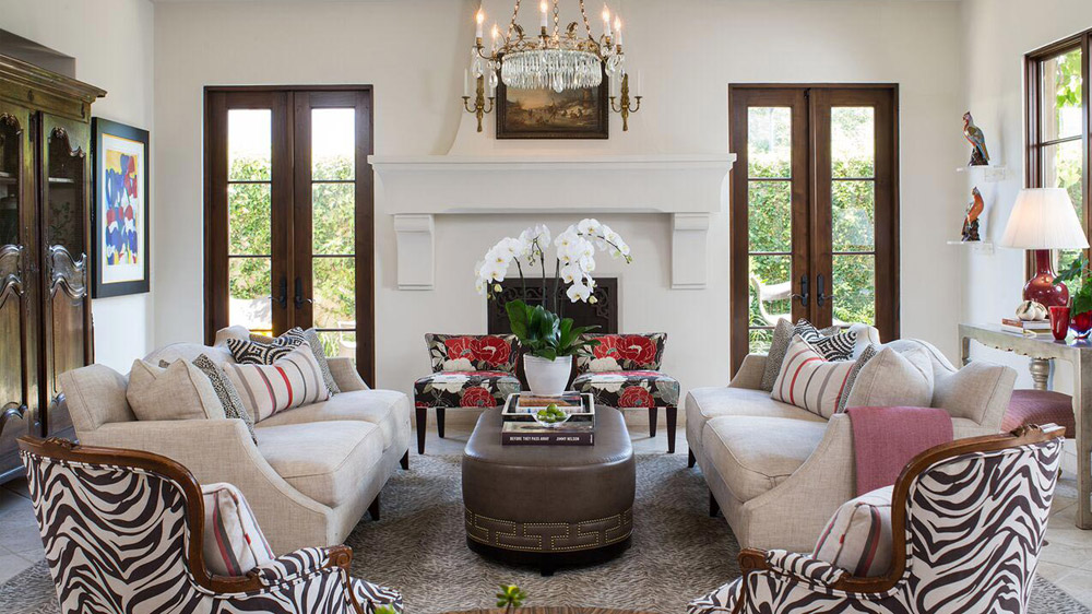 interior design project in Santa Barbara